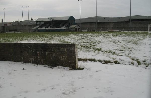 Winterse impressie van Firs Park