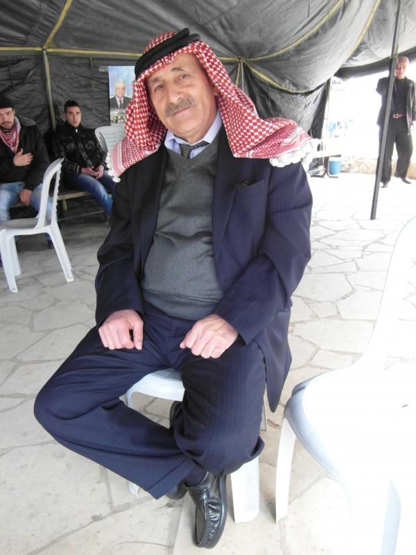 Badran Jaber, een oudgediende van het Volksfront voor de Bevrijding van Palestina, zat 17 jaar van zijn leven in Israëlische gevangenissen