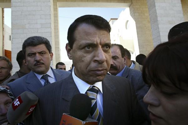 Palestinian parliament member Mohammed Dahlan