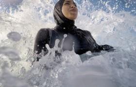Egyptische vrouw in burqini ©Myousry6666 Wkimedia